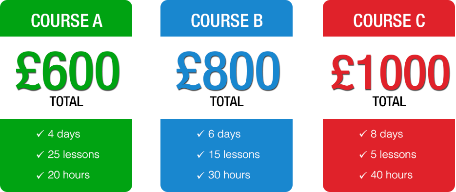 Automaticl Intensive Course Price